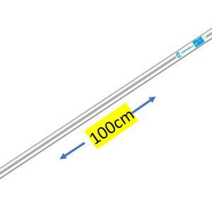 Asta di prolunga pneumatica FISSA in ALLUMINIO -CAMPAGNOLA – da 100 Cm senza impugnatura