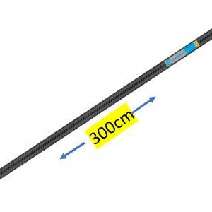 Asta di prolunga pneumatica FISSA in CARBONIO -CAMPAGNOLA – da 300 Cm senza impugnatura