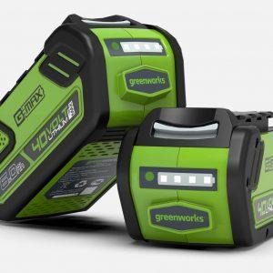 Batteria agli ioni di litio  6Ah GREENWORKS – linea  40V