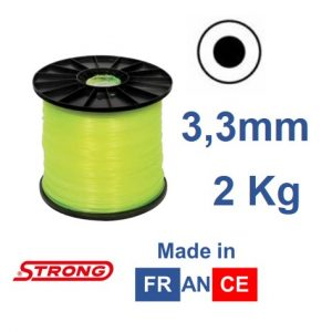 Filo per decespugliatore STRONG tondo diametro 3,3mm – 210mt