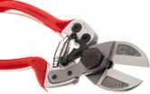 Forbice professionale a doppio taglio in alluminio FALKET mod. 2012