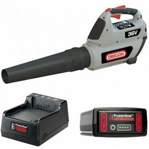 Soffiatore a batteria OREGON BL300 36V – KIT attrezzo + batteria da 4.0Ah e caricatore Standard
