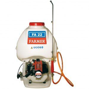 Irroratore a spalla FARMER FA22 motore 2 tempi 22cc – completo di lancia