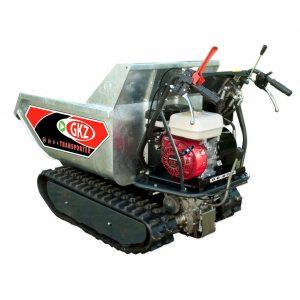 Minitransporter Cingolato portata/carico 500kg – Motore HONDA GX200 – Ribaltamento IDRO