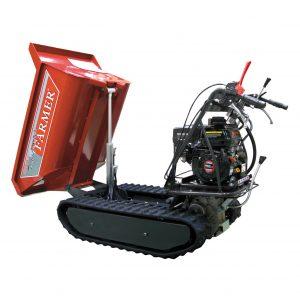 Minitransporter Cingolato portata/carico 500kg – Motore 4T OHV 196cc – Ribaltamento IDRO