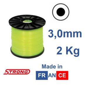 Filo per decespugliatore STRONG tondo diametro 3,0mm – 250mt