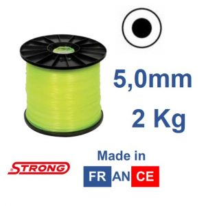 Filo per decespugliatore STRONG tondo diametro 5,0MM – 90mt