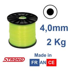 Filo per decespugliatore STRONG tondo diametro 4,0mm – 140mt