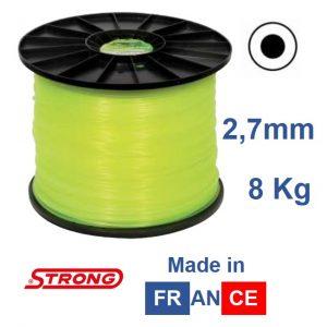 Filo per decespugliatore STRONG tondo diametro 2,7MM