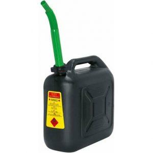 Tanica per carburante in plastica antiurto alta densità – 5 LITRI con prolunga