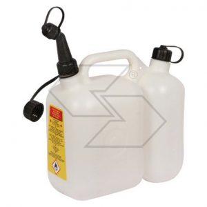 Canestro Tanica Carburante  e olio antiurto 5litri + 2,5litri