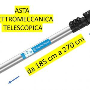 Asta di prolunga Elettromeccanica in Alluminio CAMPAGNOLA – TELESCOPICA da 185CM a 270 CM