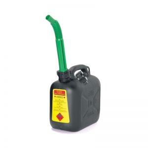 Tanica per carburante in plastica antiurto alta densità – 10 LITRI con prolunga