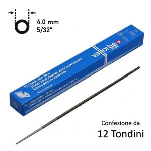 TONDINO VALLORBE 4,0mm (5/32″) PROFESSIONALI MADE IN SVIZZERA 12 PZ
